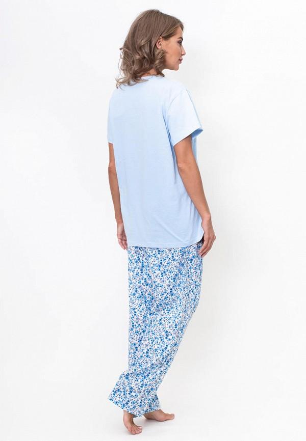 Vienetta | Женский голубой домашний костюм Vienetta | Clouty