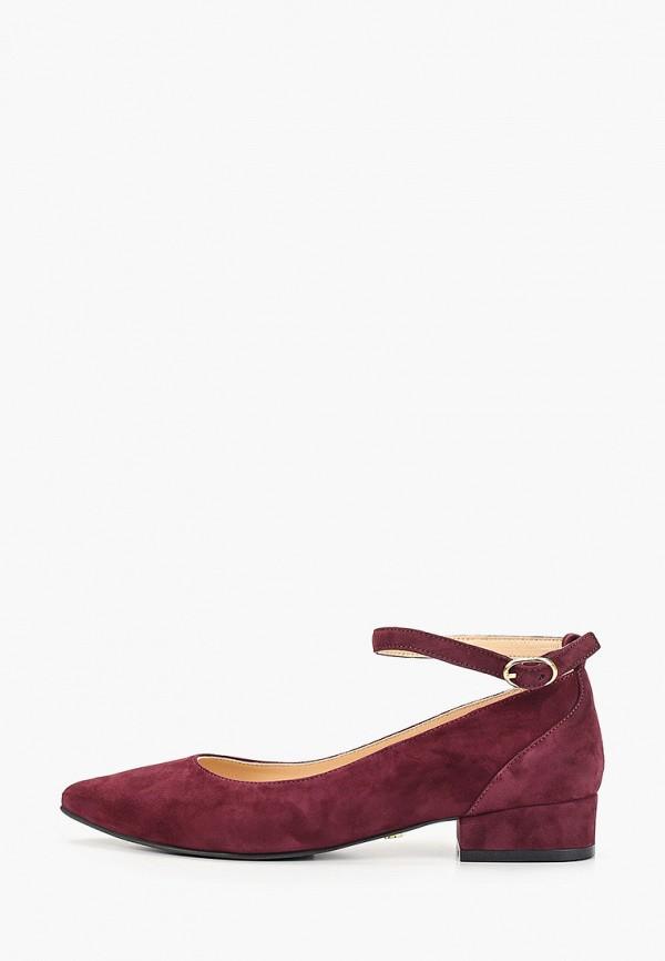 Hestrend | бордовый Бордовые туфли Hestrend Тунит | Clouty