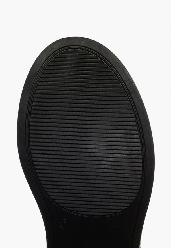 Clovis | черный Женские зимние черные полусапоги Clovis термопластиковая резина | Clouty