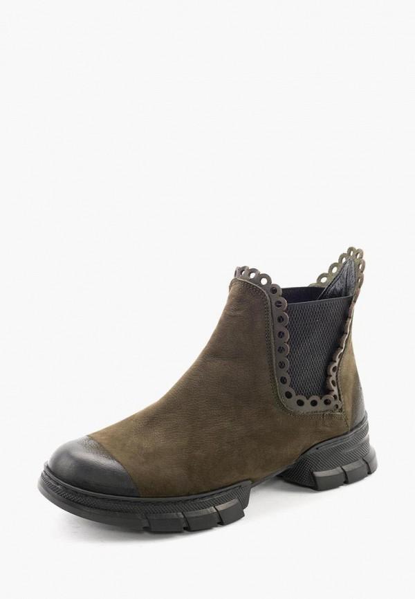 Clovis | хаки Женские ботинки Clovis термопластиковая резина | Clouty