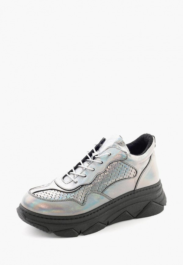 Clovis | серебряный Женские серебряные кроссовки Clovis полимер | Clouty