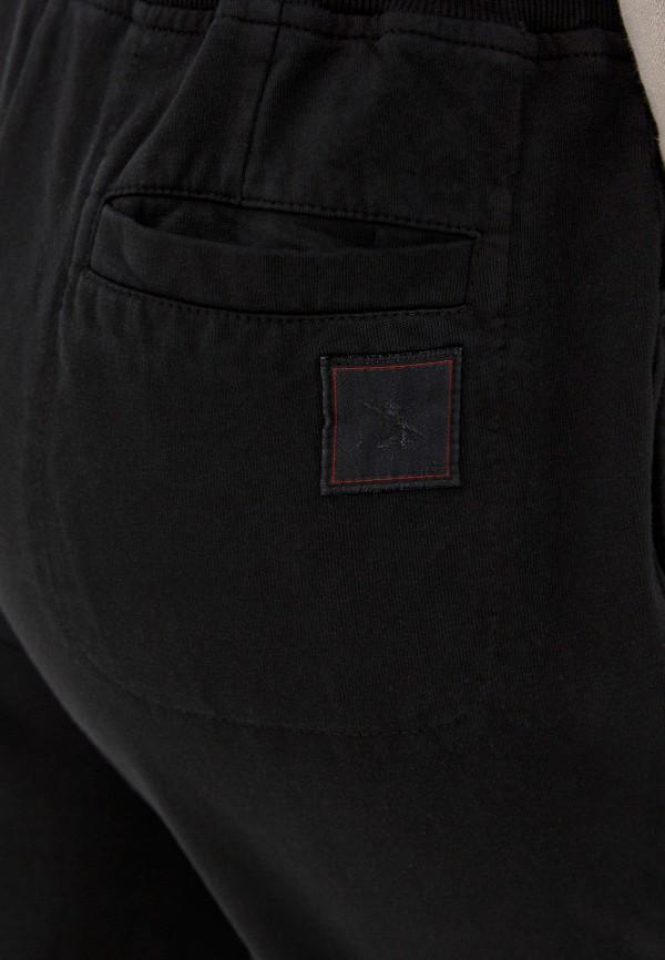 GJO.E | черный Женские черные спортивные брюки GJO.E | Clouty