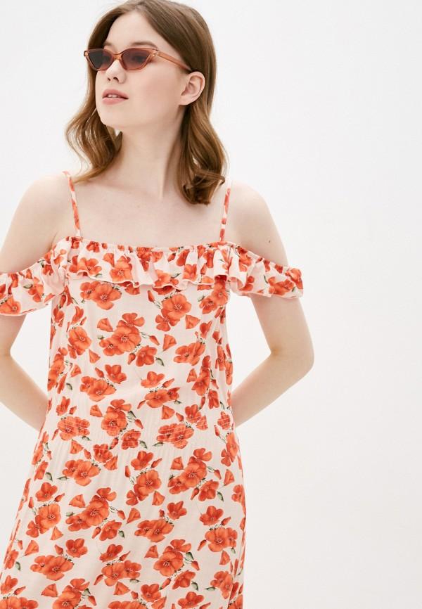 Relax Mode | коралловый Платье Relax Mode | Clouty