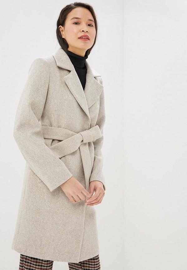 Paradox | бежевый Женское бежевое пальто Paradox | Clouty
