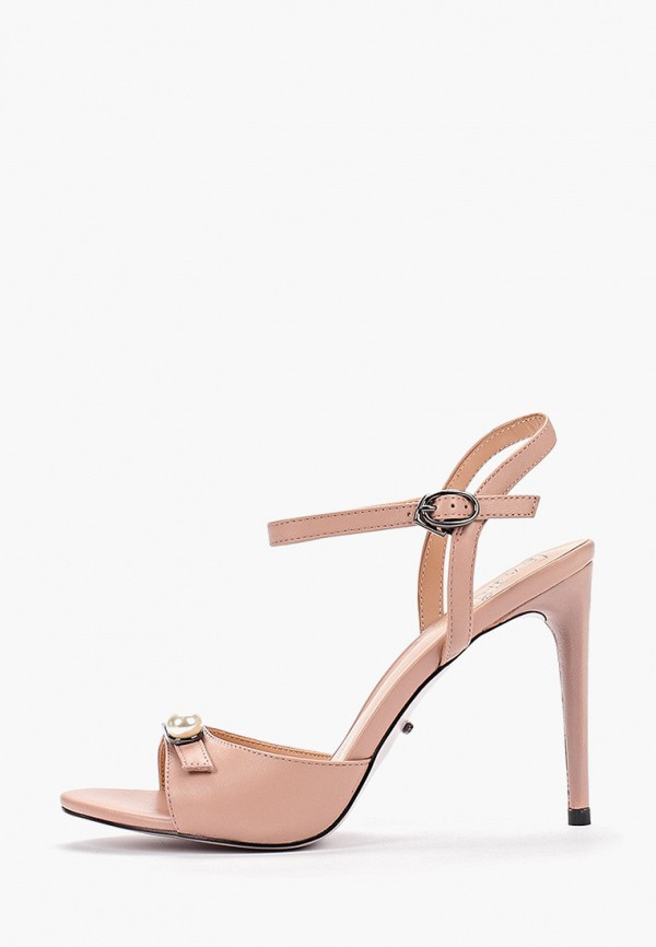 Graciana | розовый Летние розовые босоножки Graciana Тунит | Clouty