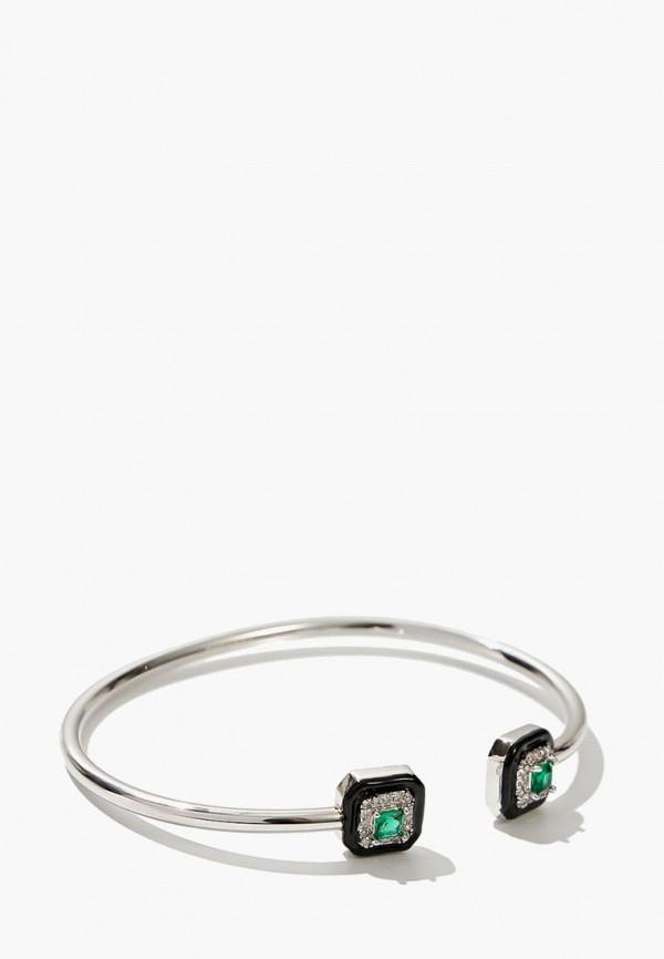 Exclaim | зеленый, серебряный Женский браслет Exclaim | Clouty