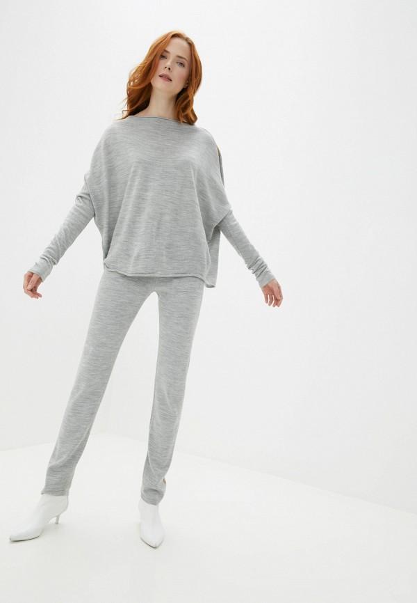 Verushka | Женский серый костюм Verushka | Clouty