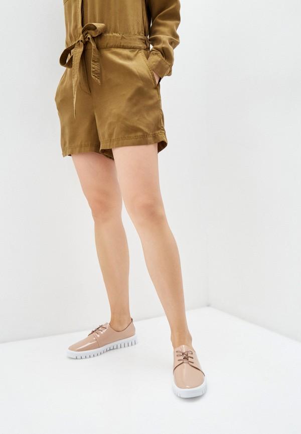 Mascotte | бежевый Женские бежевые ботинки Mascotte резина | Clouty