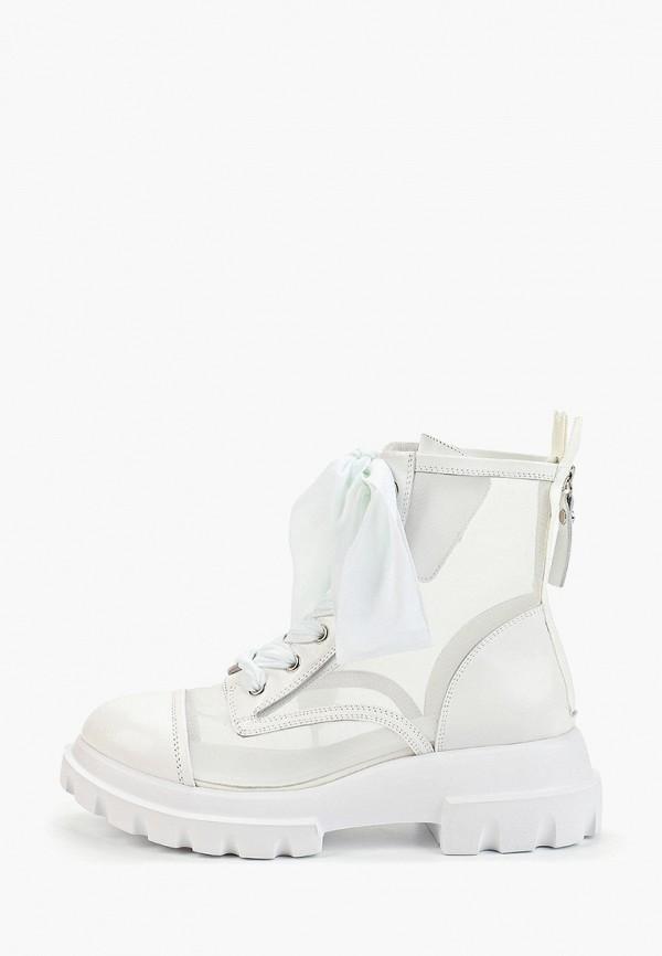 Graciana | белый Женские летние белые ботинки Graciana полиуретан | Clouty