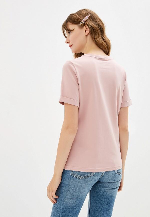Fashion.Love.Story | розовый Женская розовая футболка Fashion.Love.Story | Clouty