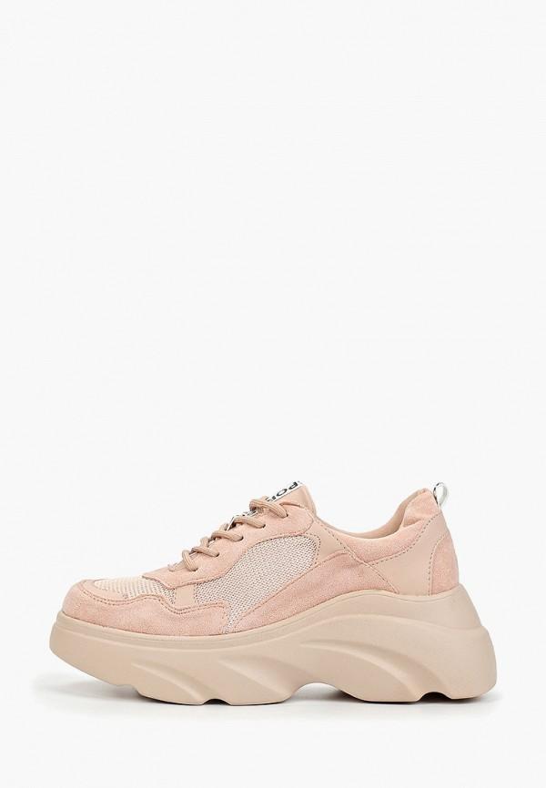 Luvelena   розовый Женские розовые кроссовки Luvelena полиуретан   Clouty