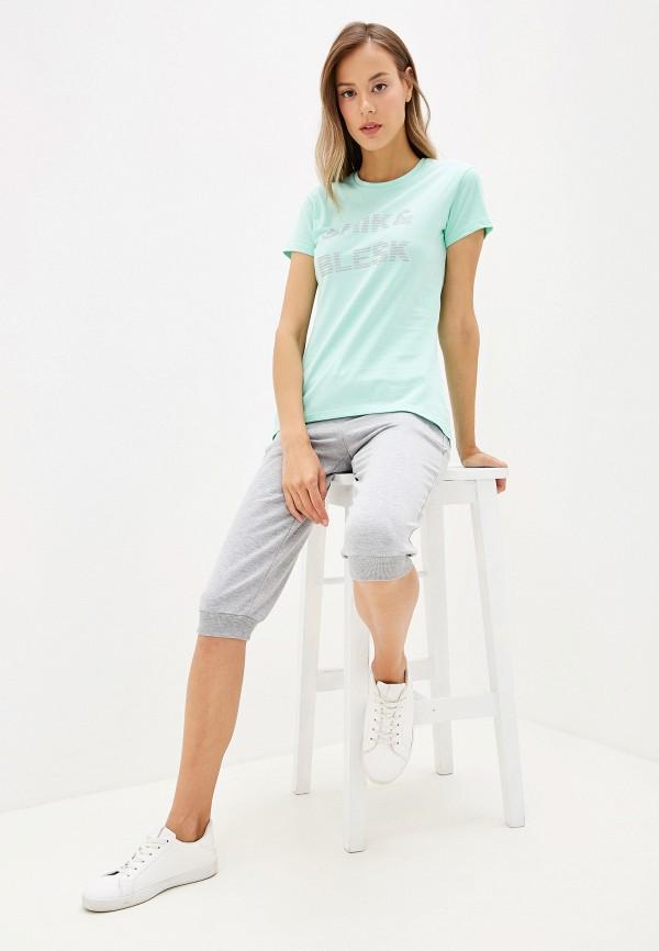 Viserdi | бирюзовый Женская бирюзовая футболка Viserdi | Clouty