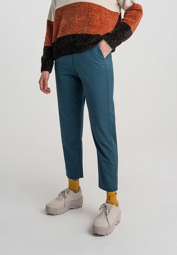 Befree | бирюзовый Женские бирюзовые брюки Befree | Clouty