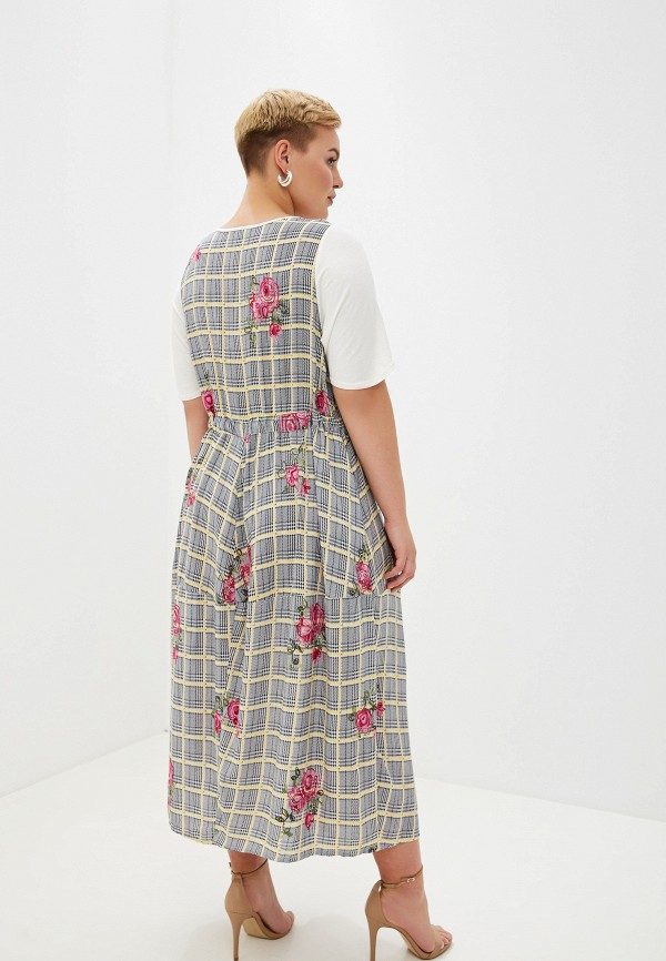 Мечты Данаи | серый Женское летнее серое платье Мечты Данаи | Clouty