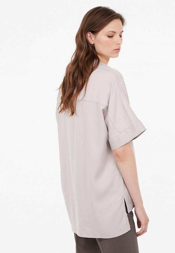 Lime | серый Женская серая блуза Lime | Clouty