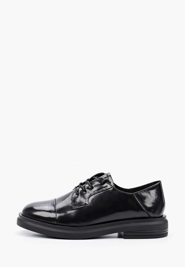 Sprincway | черный Женские черные ботинки Sprincway полиуретан | Clouty