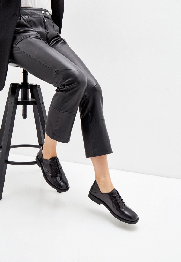 Berkonty | черный Женские черные ботинки Berkonty полимер | Clouty