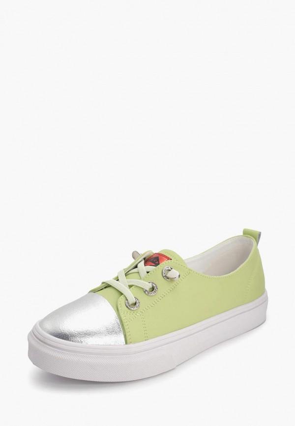 Mak Fine | зеленый Женские зеленые кеды Mak Fine резина | Clouty