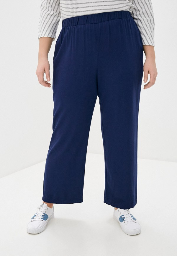 INCITY | синий Женские синие брюки INCITY | Clouty