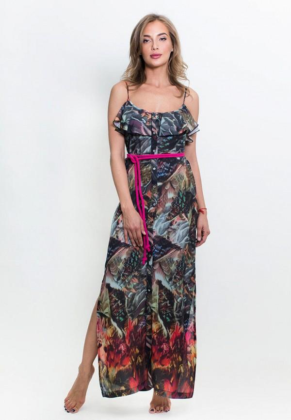 Penye Mood | мультиколор Летнее пляжное платье Penye Mood | Clouty