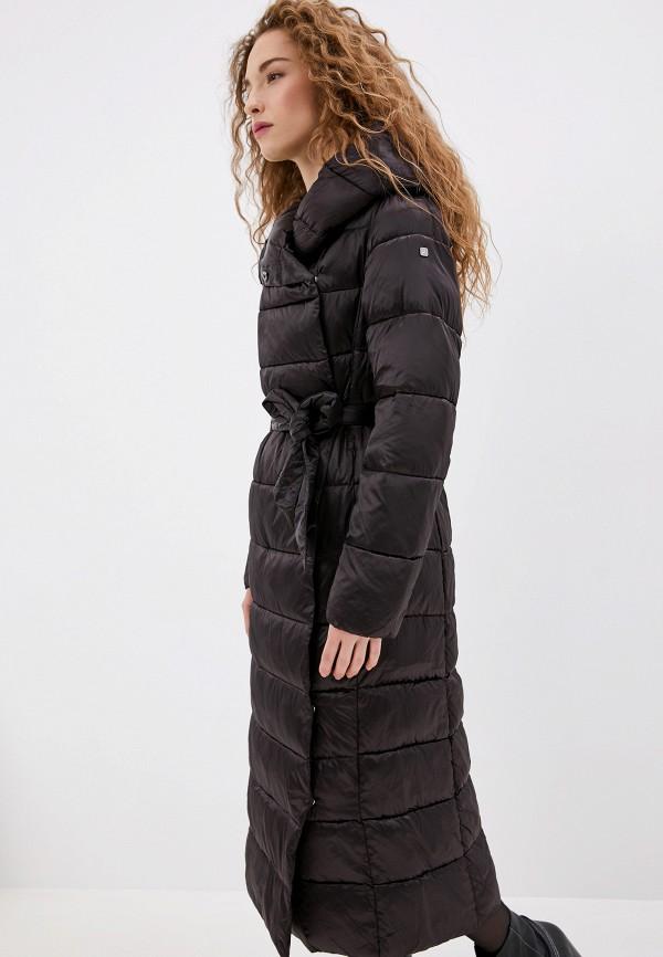Conso Wear | коричневый Женская зимняя коричневая утепленная куртка Conso Wear | Clouty