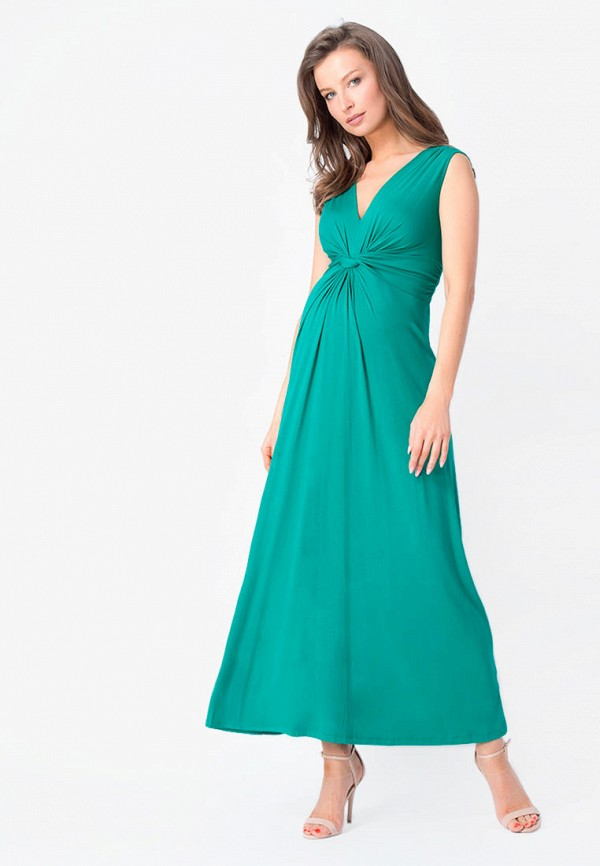 Bornsoon   бирюзовый Платье Bornsoon   Clouty