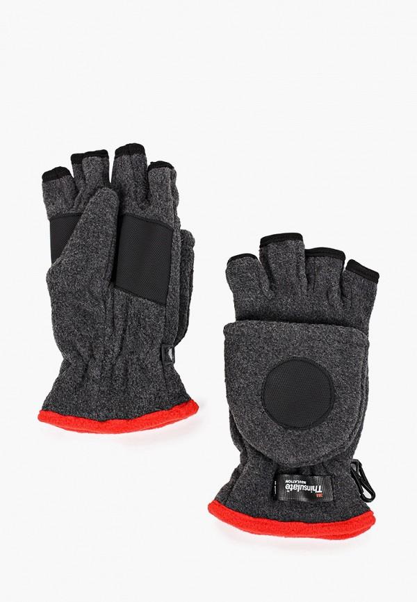 Herman | серый Женские зимние серые перчатки Herman | Clouty