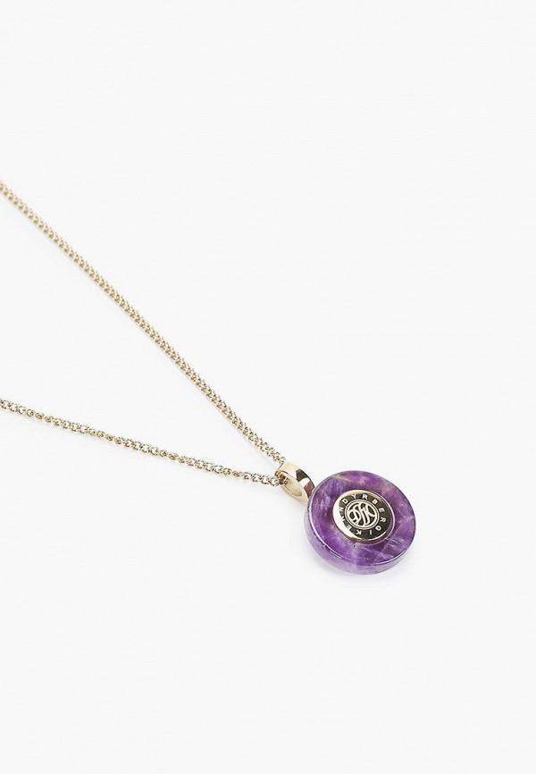 Dyrberg/Kern   фиолетовый Женское фиолетовое колье Dyrberg/Kern   Clouty