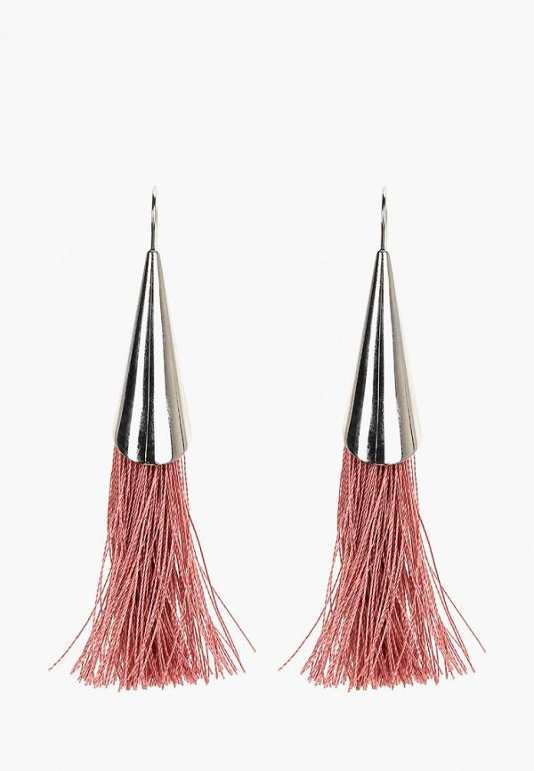 Dyrberg/Kern | розовый Женские розовые серьги Dyrberg/Kern | Clouty