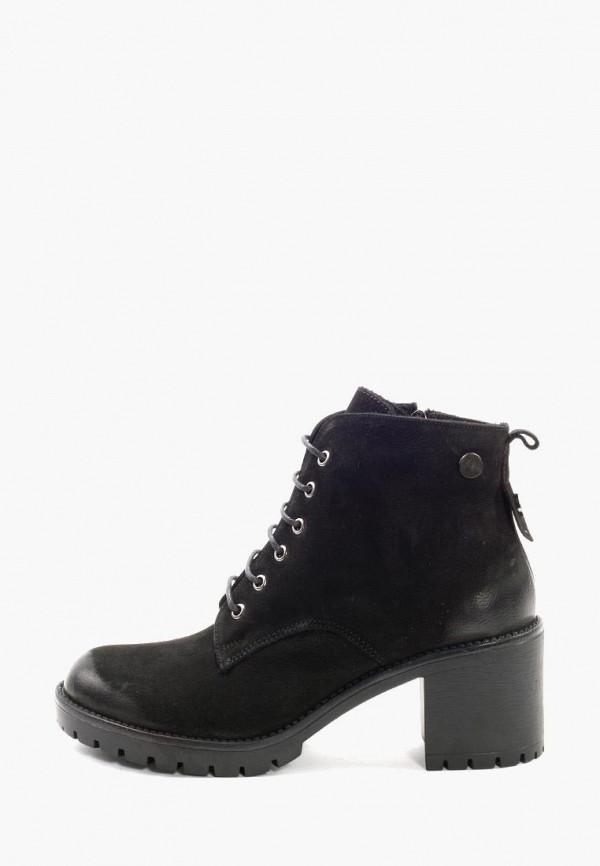 Clovis | черный Черные ботильоны Clovis термопластиковая резина | Clouty