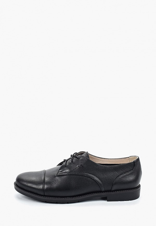 Thomas Munz | черный Женские черные ботинки Thomas Munz термоэластопласт | Clouty