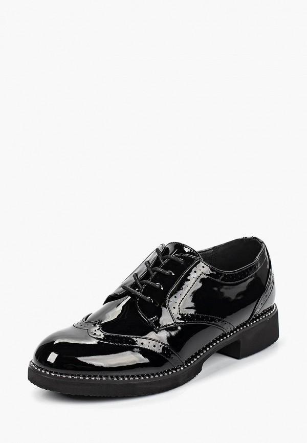T.Taccardi | черный Женские черные ботинки T.Taccardi полиуретан | Clouty