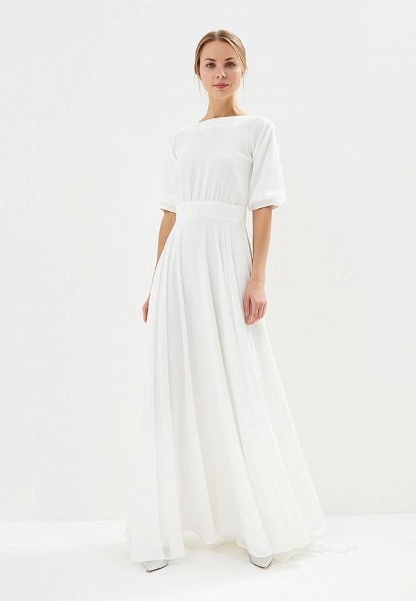 Lakshmi fashion | белый Женское белое платье Lakshmi fashion | Clouty