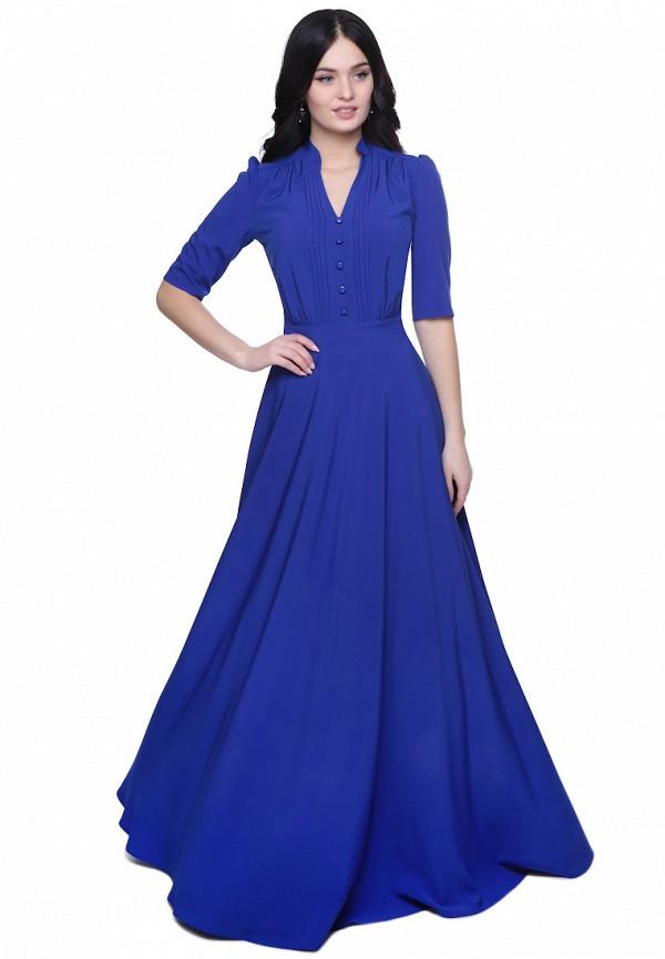 Grey Cat | синий Женское синее платье Grey Cat | Clouty