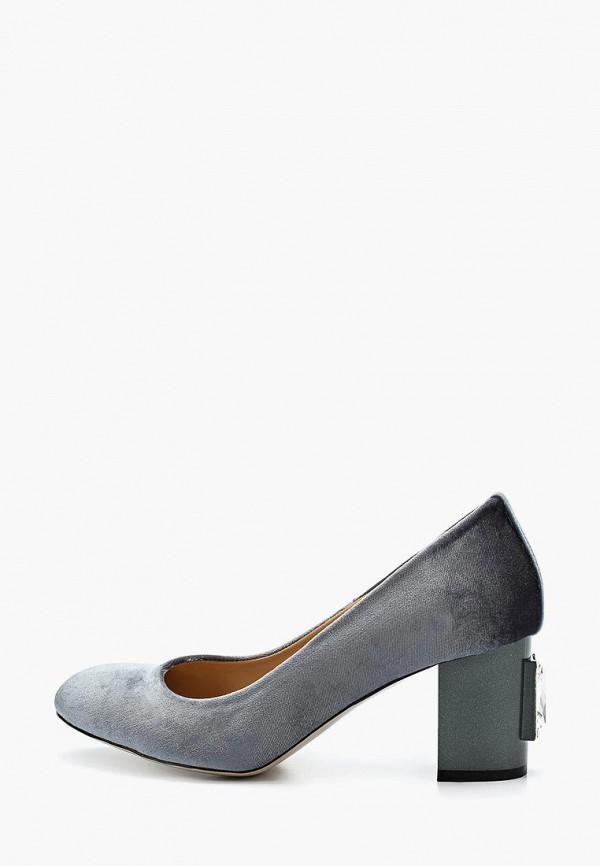 Hestrend | серый Серые туфли Hestrend искусственный материал | Clouty