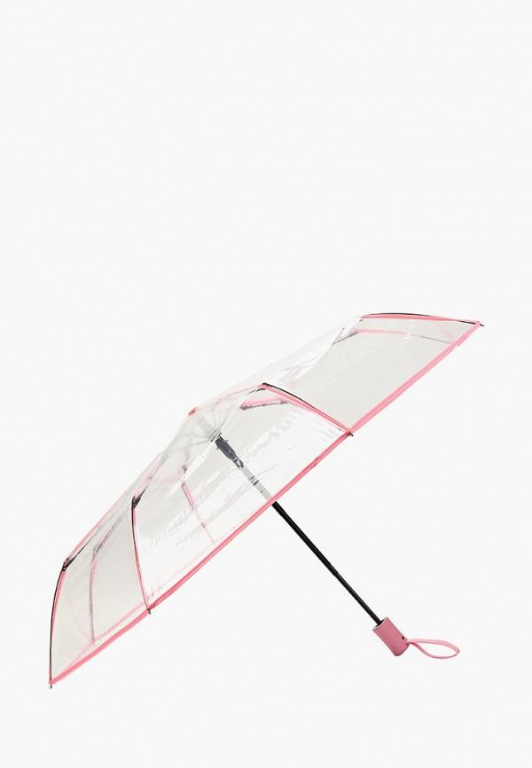 Kawaii Factory | Женский прозрачный складной зонт Kawaii Factory | Clouty