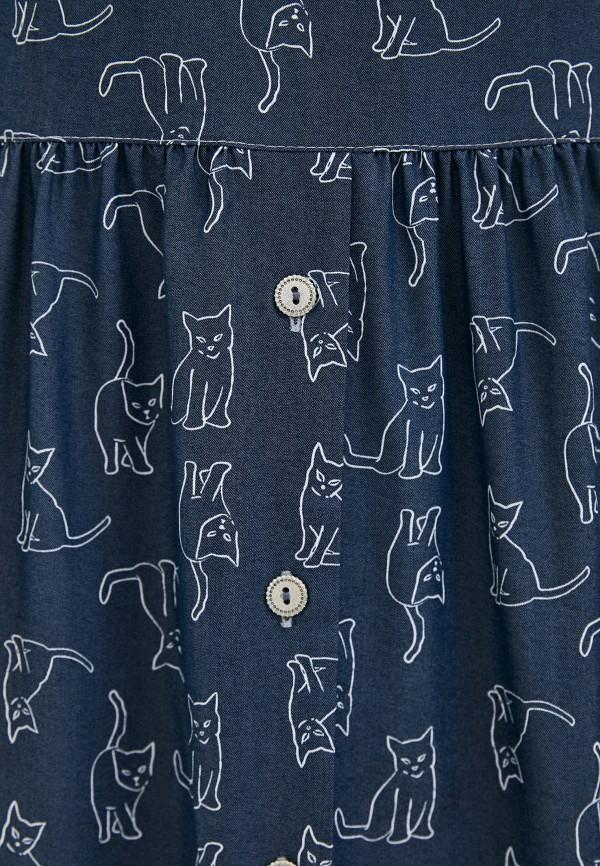 Buono | синий Женское летнее синее платье Buono | Clouty