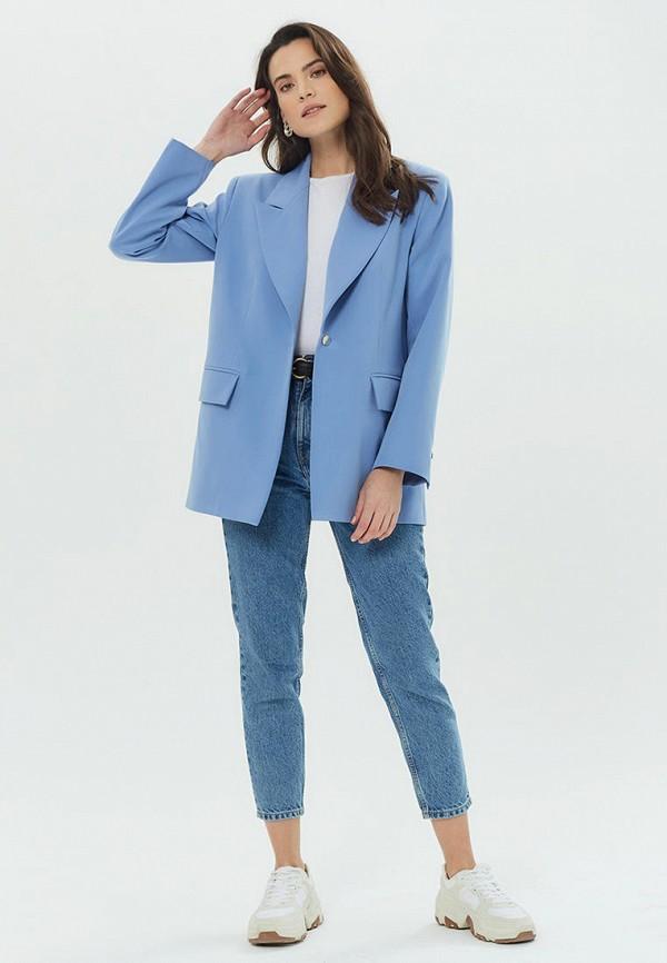 Madlen | Женский голубой пиджак Madlen | Clouty