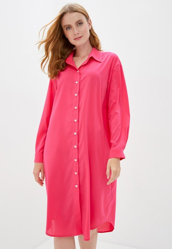 Bodypoetry | розовый Розовое пляжное платье Bodypoetry | Clouty