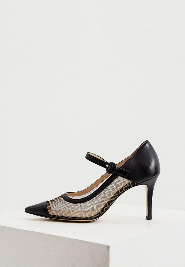 Högl | черный Женские черные туфли Högl натуральная кожа | Clouty