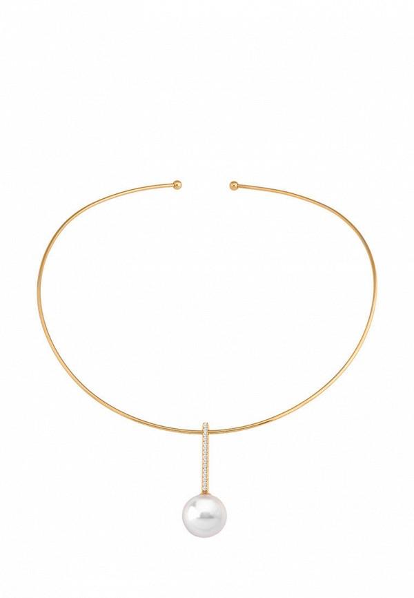 Majorica | белый, золотой Женское колье Majorica | Clouty