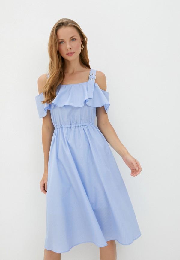 Zarina   голубой Платье Zarina   Clouty