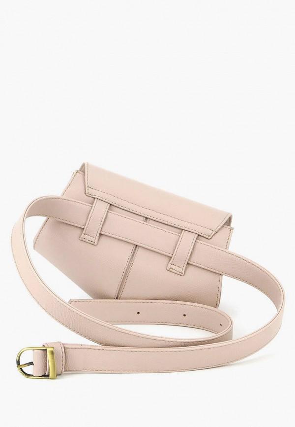 Solo | бежевый Женская бежевая поясная сумка Solo | Clouty