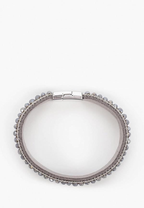 Bocciolo | серый, золотой Женский браслет Bocciolo | Clouty