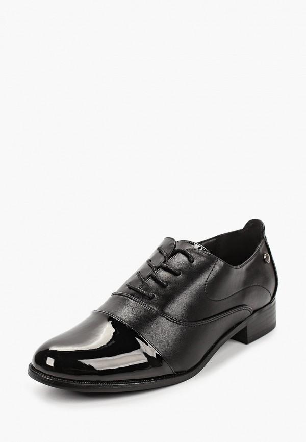T.Taccardi | черный Женские черные ботинки T.Taccardi резина | Clouty