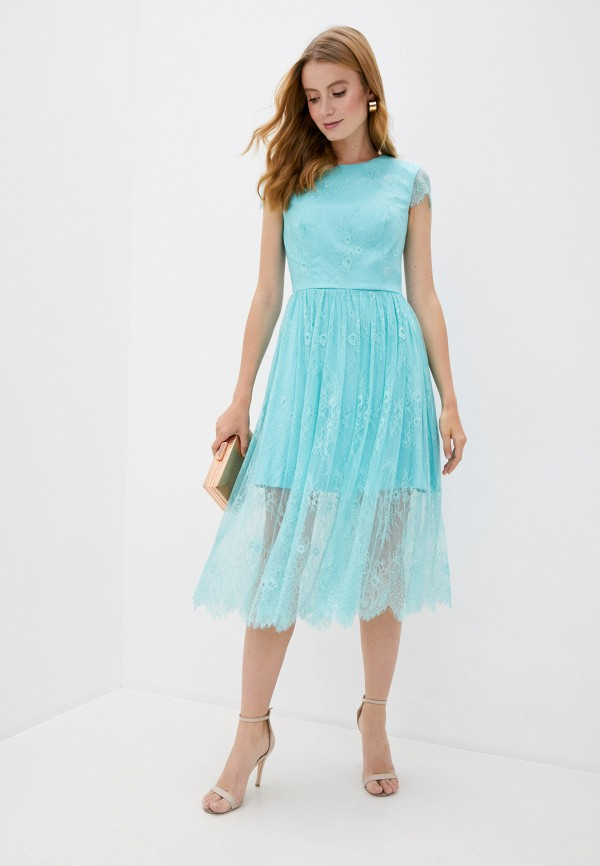 D&M by 1001 dress   бирюзовый Платье D&M by 1001 dress   Clouty