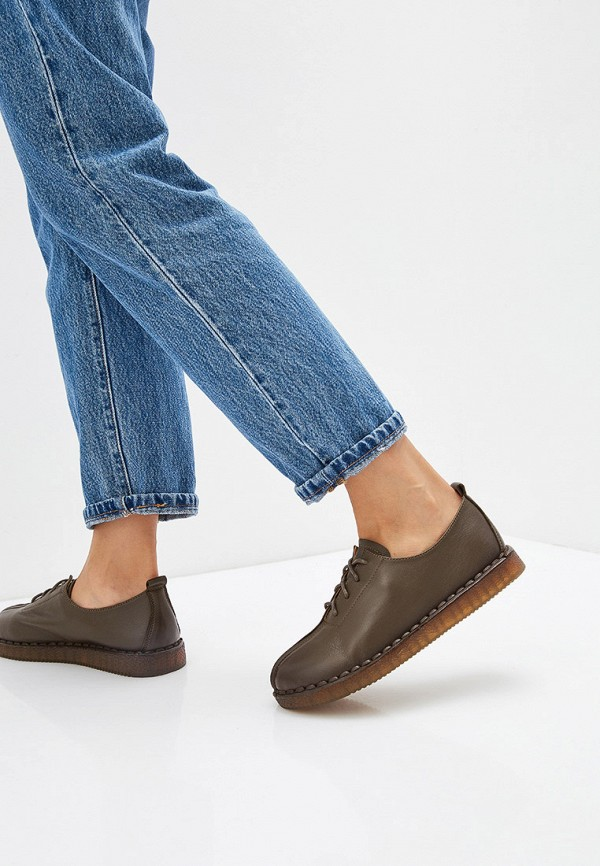 Madella | хаки Женские ботинки Madella полимер | Clouty
