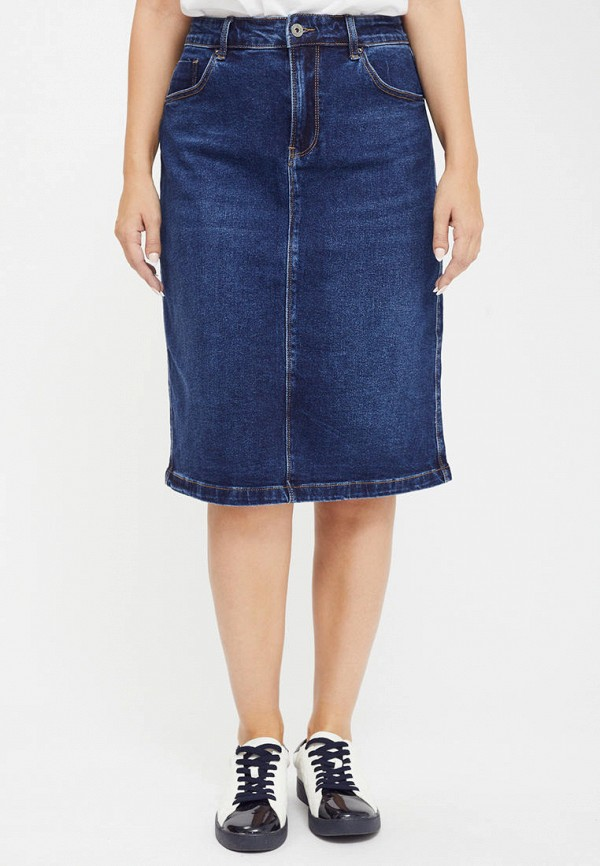 Mossmore | синий Синяя джинсовая юбка Mossmore | Clouty