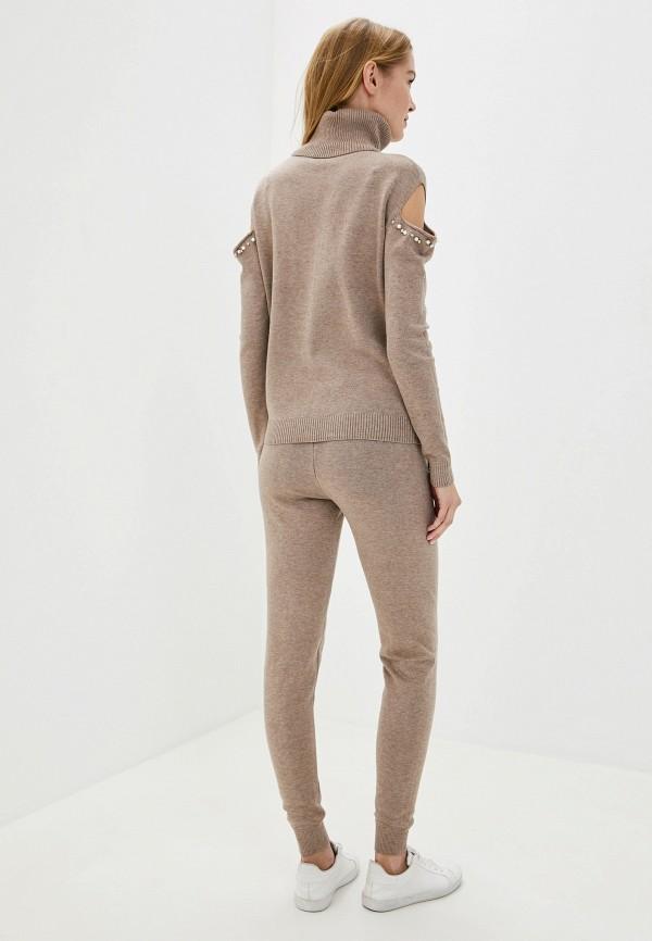 Pavli | Женский коричневый костюм Pavli | Clouty