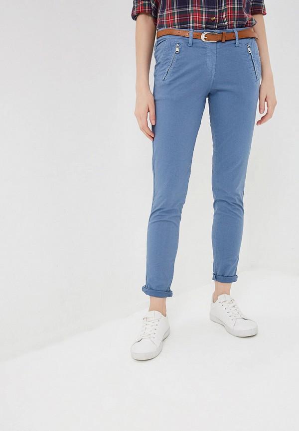 Grafinia   синий Женские летние синие брюки Grafinia   Clouty